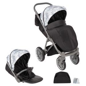 Прогулочная коляска  iX, цвет: камуфляж серый Bexa Poland