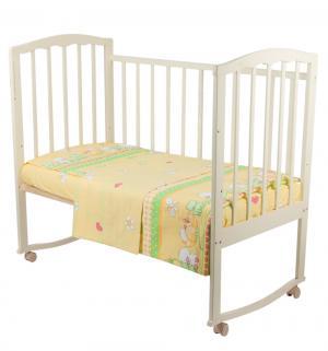 Комплект постельного белья  Друзья, цвет: зеленый 3 предмета Нордтекс