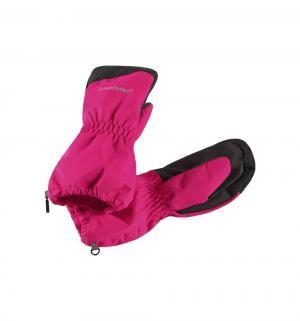 Варежки , цвет: розовый Lassie