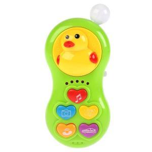 , Игрушка музыкальная на батарейках Телефон, 18*12*5СМ Tongde