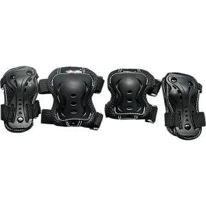Комплект защиты  Safety line 700 Tech Team. Цвет: черный