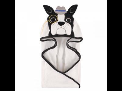 Полотенце  с капюшоном, 84*84 см белый, р. Hudson Baby