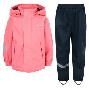 Комплект куртка/брюки  Opri, цвет: розовый Lassie