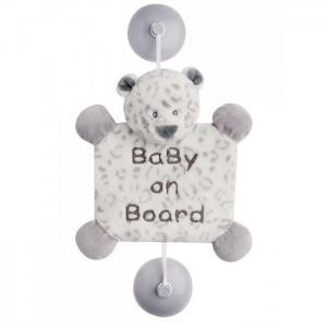 Знак Baby on board Loulou Lea & Hippolyte Леопард Nattou