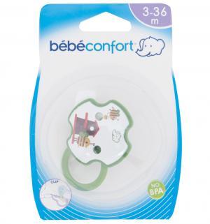 Клипса-держатель для пустышки , цвет: зеленый Bebe confort