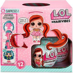 Кукла LOL Surprise! #Hairvibes с прядями для причесок MGA
