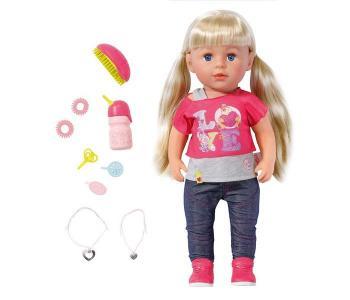 Кукла Baby born Сестричка 43 см с акссесуарами Zapf Creation
