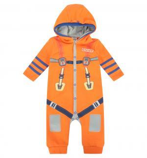 Комбинезон  Космос, цвет: оранжевый Ёмаё