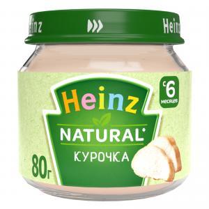 Пюре  курица, с 6 месяцев, 80 г Heinz