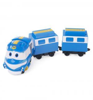 Паровозик  Кей с двумя вагонами Robot Trains
