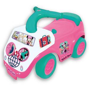 Каталка - автомобиль  Милашка Минни Kiddieland. Цвет: розовый/белый