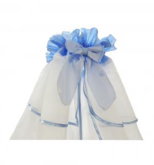 Балдахин Ласковое лето 165 х 420 см, цвет: голубой Soni Kids