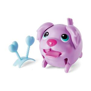 Коллекционная фигурка Spin Master , сиреневый щенок Chubby Puppies. Цвет: фиолетовый