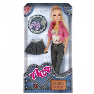 Кукла Ася Блондинка Джинсовый стиль Toys Lab