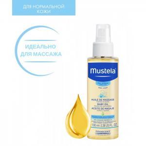 Массажное масло 100 мл Mustela