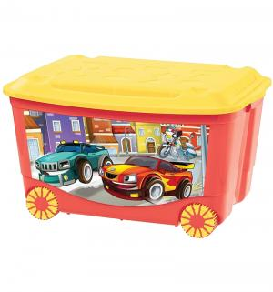 Ящик для игрушек  С аппликацией Бытпласт