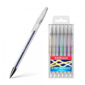 Ручка гелевая  R-301 Metallic Erich Krause