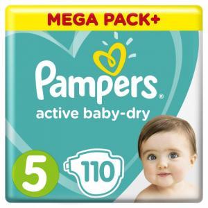 Подгузники Active Baby-Dry Junior 5 р. (11-16 кг) 110 шт. Pampers