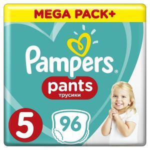 Трусики  Pants 5 размер (12-17 кг) 96 шт. Pampers