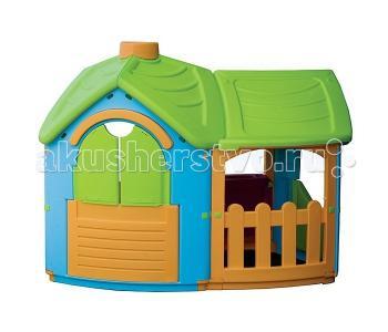 Игровой домик Вилла с 1 пристройкой Palplay (Marian Plast)