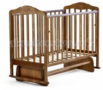 Детская кроватка  Зебра с маятником Малика