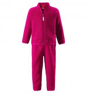Комплект термобелья кофта/брюки  Tahto, цвет: красный Reima