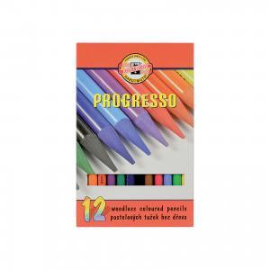 Цветные карандаши Progresso, 12 цв., KOH-I-NOOR