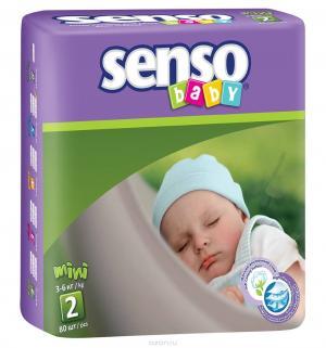 Подгузники  (3-6 кг) 80 шт. Senso Baby