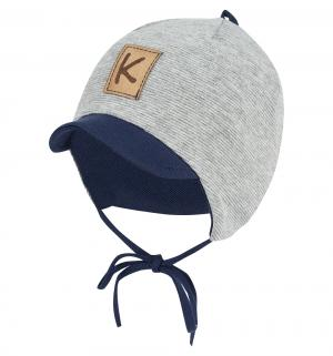 Шапка , цвет: серый/синий Krochetta