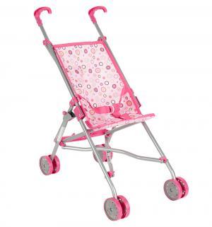 Коляска-трость для кукол  розовая 55 см Melobo