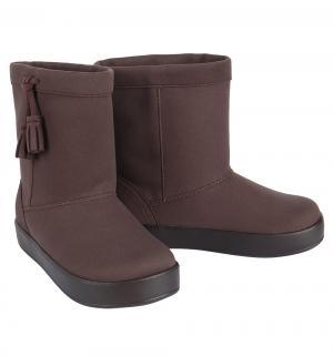 Сапоги  LodgePoint Boot K Espresso, цвет: коричневый Crocs