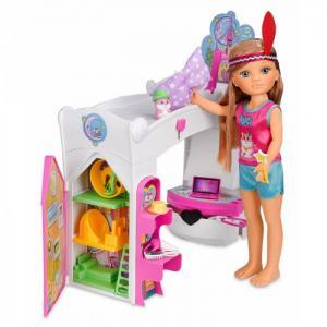 Кукла Нэнси волшебная спальня Famosa