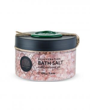 Соль для принятия ванн омолаживающая с маслом розового дерева, 330 г Huilargan