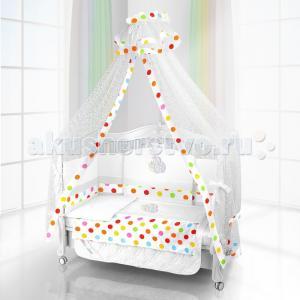 Комплект в кроватку  Unico Mela 120х60 (6 предметов) Beatrice Bambini