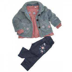 Комплект для девочки (жакет, туника, брюки) 3240 Baby Rose