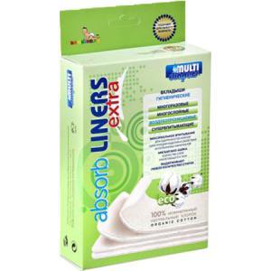 Вкладыши  Extra для многоразовых подгузников () 4 шт. Multi-Diapers