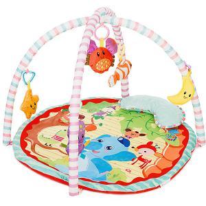 Развивающий коврик  Play Yard 1 Джунгли Baby Hit. Цвет: зеленый