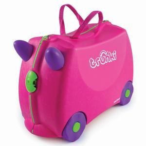Детский чемодан на колесах Trixie Trunki