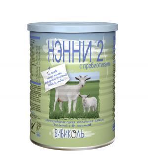 Молочная смесь  2 с пребиотиками 6 месяцев, 400 г Нэнни