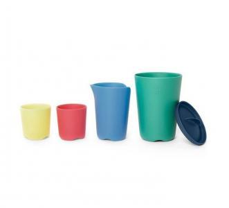 Игрушки для купания Flexi Bath Toy Cups 5 шт. Stokke