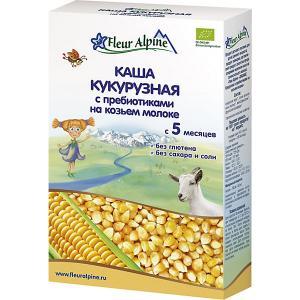 Каша  на козьем молоке кукурузная с пребиотиками, 5 мес Fleur Alpine