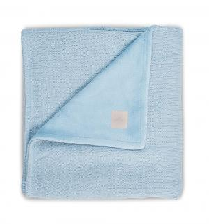 Плед  Soft knit 150 х 100 см, цвет: голубой Jollein