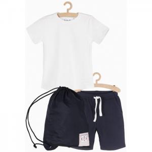 Комплект спортивный для мальчика (футболка, шорты, мешок) 1P3902 5.10.15