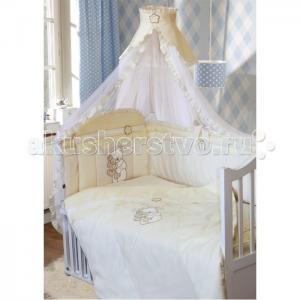 Комплект в кроватку  Сабина (7 предметов) Золотой Гусь
