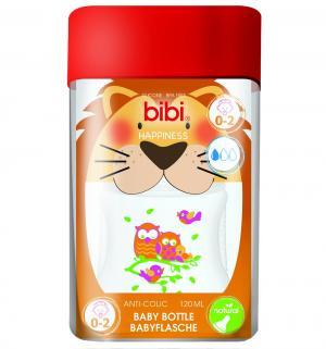 Бутылочка  полипропилен с 0 мес, 120 мл Bibi