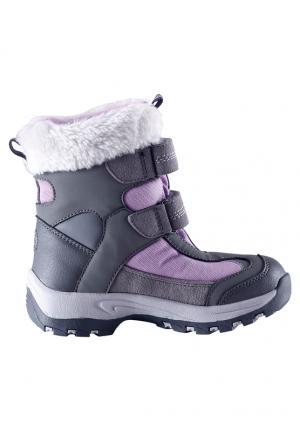 Ботинки  Kinos, цвет: фиолетовый Reima