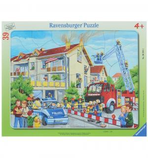 Пазл  Пожарные спешат на помощь 39 элементов Ravensburger