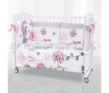 Комплект в кроватку  Bunny (6 предметов) Eco Line