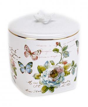 Косметическая емкость с крышкой Butterfly Garden Avanti