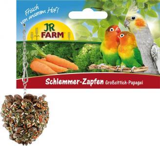 Лакомство  для средних и больших попугаев Лакомая шишка, 1шт JR Farm
